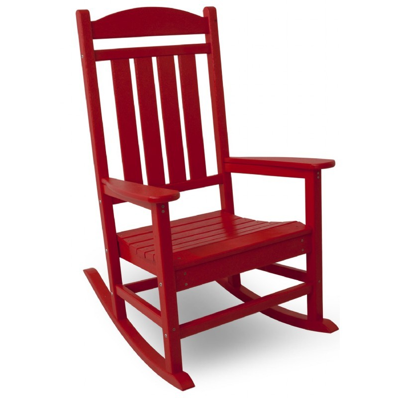POLYWOOD® Presidential Outdoor Rocker Vibrant Colors