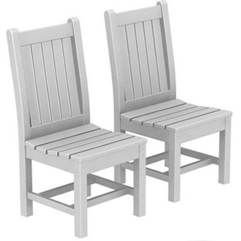 Rockford Recycled Plastic Outdoor Restaurant Dining Chair PW RKC19