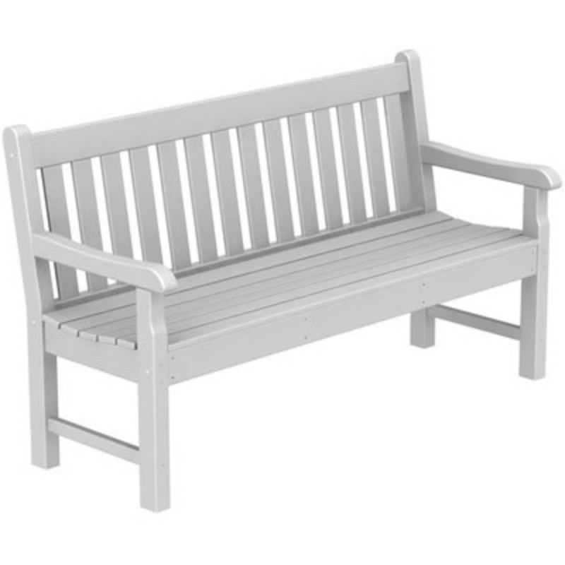 Plastic Wood Rockford Outdoor Park Bench 60 inches