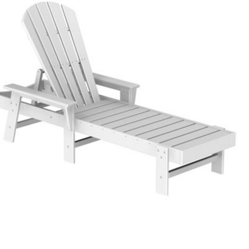 Plastic Wood South Beach Chaise Lounge Classic : Patio Chairs