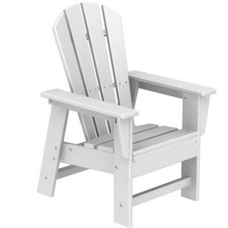Plastic Wood South Beach Kids Chair Classic Colors : Patio Chairs