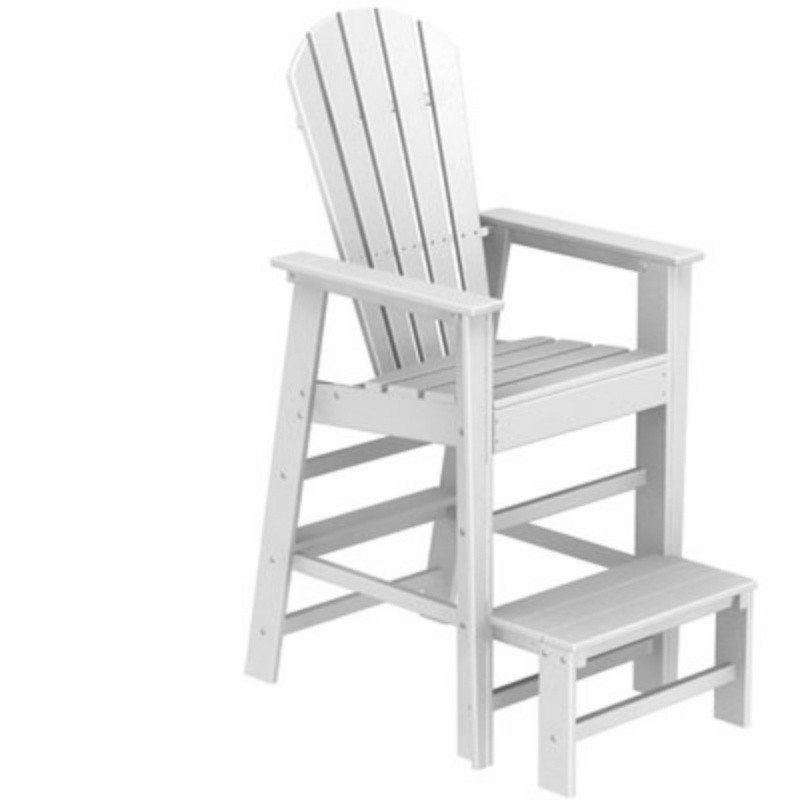 Plastic Wood South Beach Life Guard Chair Classic