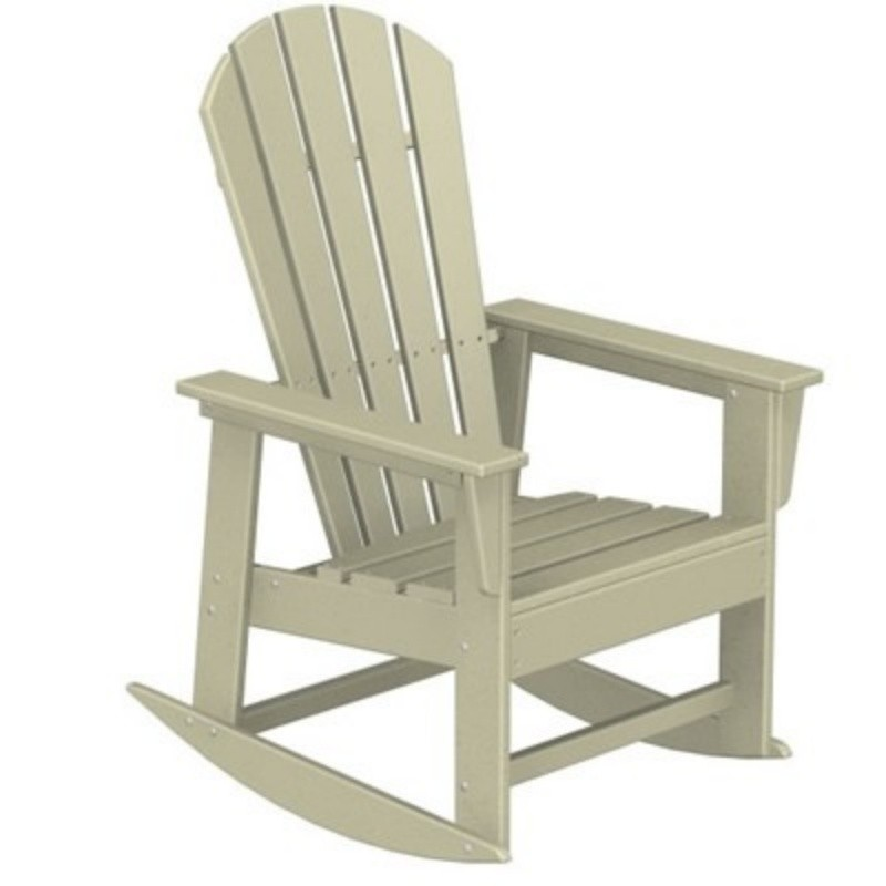 Plastic Wood South Beach Rocker Chair Classic alternative photo #0