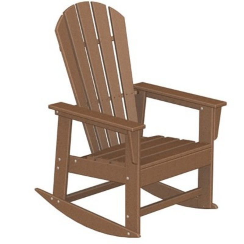 Heavy Duty Folding Outdoor Rocking Chair: Polywood South Beach Outdoor Rocker Chair Classic