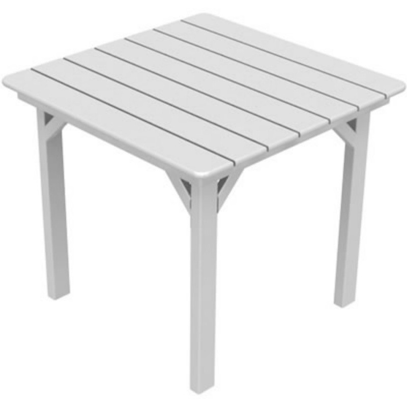 recycled plastic square dining table 33 inch pw sq33