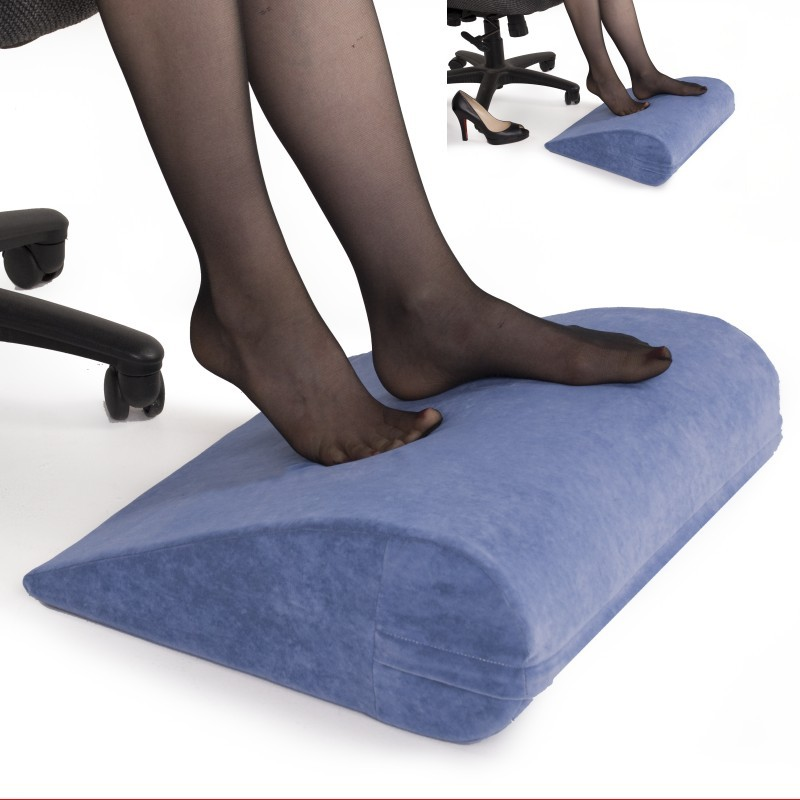 Computer Foot Rest: Office Foot Rest Pillow Beige