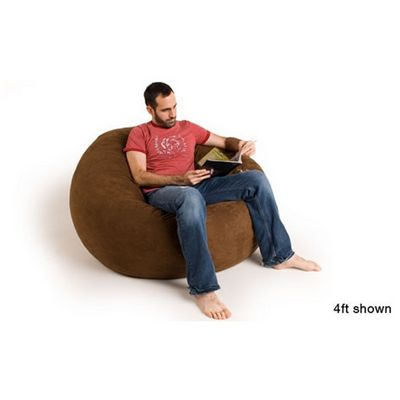 Jaxx Sac Bean Bag Chair 4 Feet Microsuede FL-ZJF-SAC4