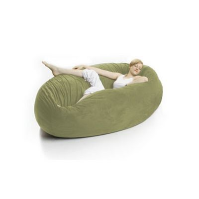 Zak Cocoon Bean Bag Chair Microsuede Sage FL-ZK-COON-MS07