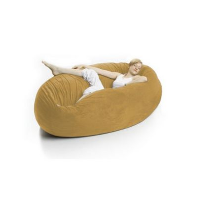 Zak Cocoon Bean Bag Chair Yellow FL-ZK-COON-P930