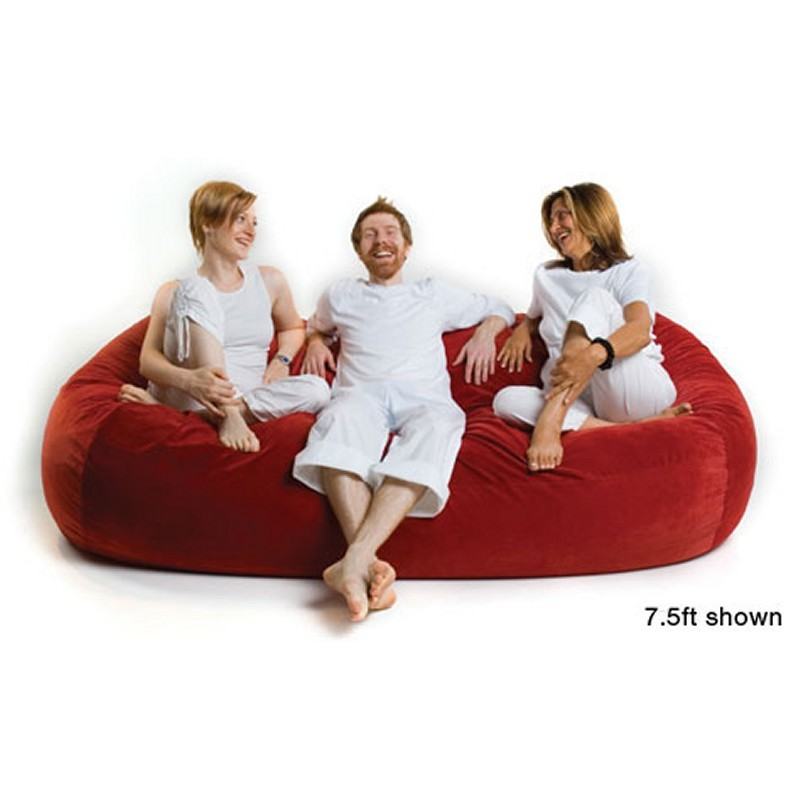 Jaxx Bean Bag Sofa XL 7.5 Feet Microsuede