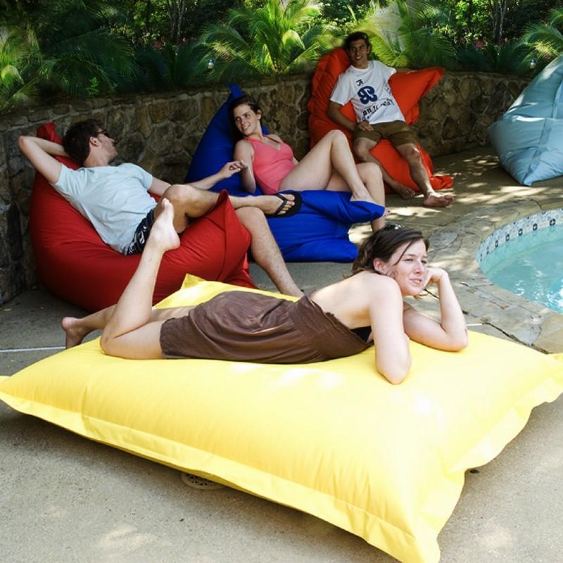 Poolside Bean Bag Pillow Lounger