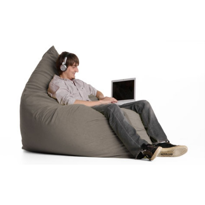 Bean Bag Chairs: Pillow Bean Bag Chair Glacier