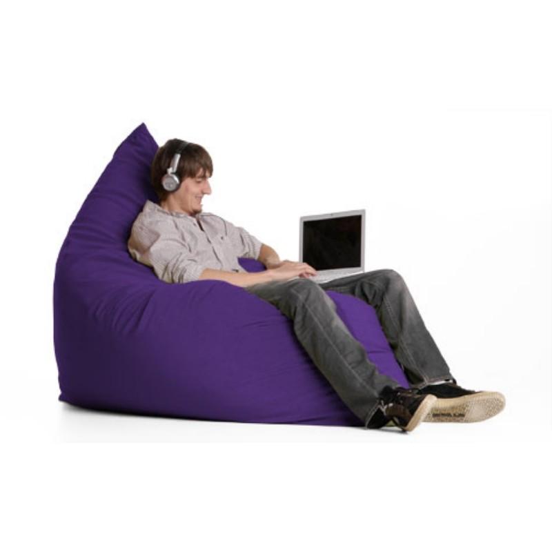 Sofa Covers For Pets Pillow Bean Bag Chair Microfiber Purple FL-ZJF-PIL-PUR ...