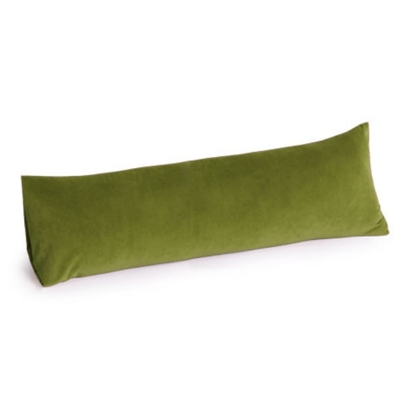 Armrest Bed Pillows: Memory Foam Body Pillow 30 inch Apple Green