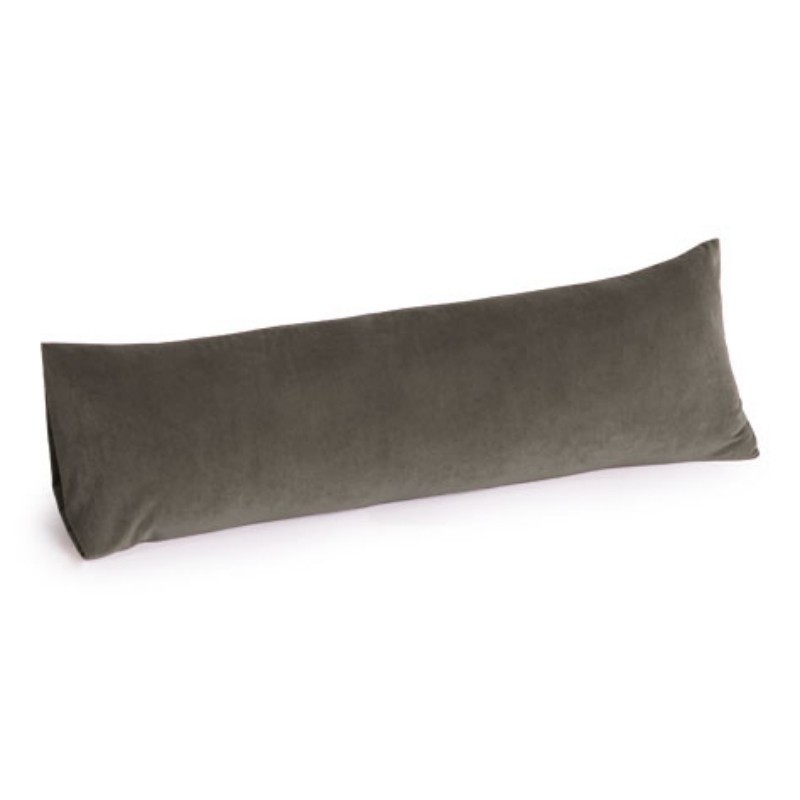 Computer Foot Rest: Memory Foam Body Pillow 30 inch Glacier