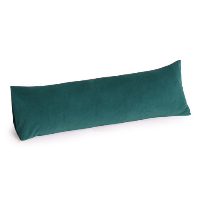Armrest Bed Pillows: Memory Foam Body Pillow 30 inch Turquoise