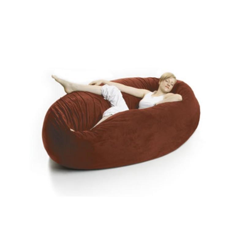 Zak Single Cocoon Bean Bag Bed Pepper FL ZK COON P603