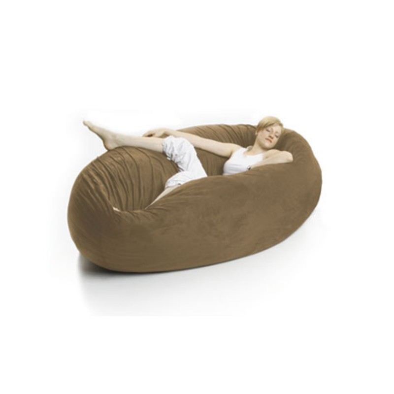 zak single cocoon bean bag bed toast fl zk coon p533