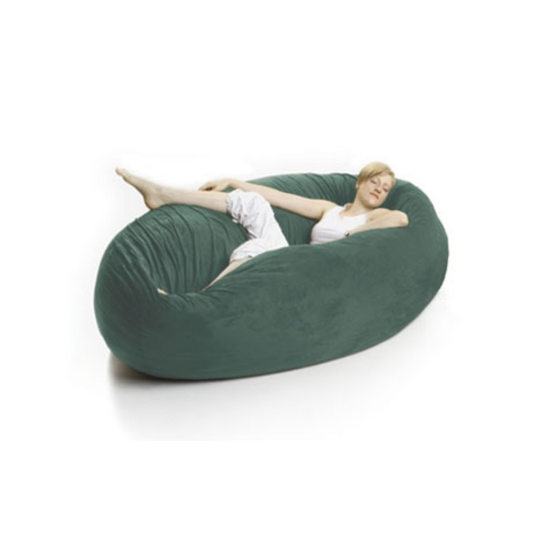 Blue Bean Bags: Zak Single Cocoon Bean Bag Bed Turquoise