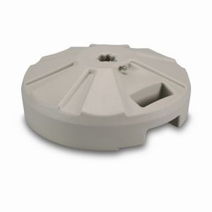 Plastic 50 lb. Umbrella Base Beige PLC-00234