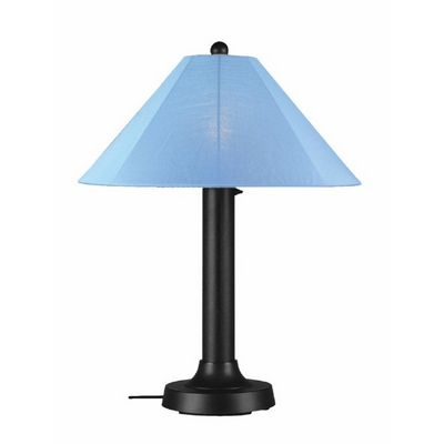 Catalina Outdoor Table Lamp Black PLC-39640