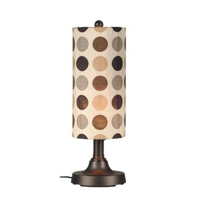 "Coronado 30"" Table Lamp with Bronze Body & Mojito Coffee Bean PLC-47287"