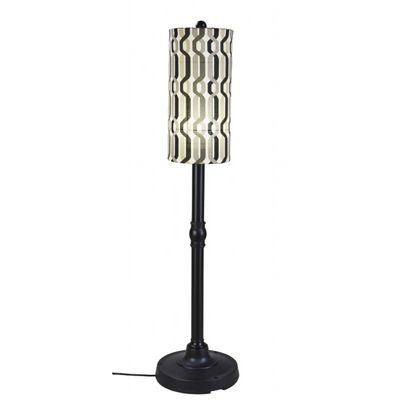 "Coronado 58"" Floor Lamp with Black Body & New Twist Caviar PLC-62270"