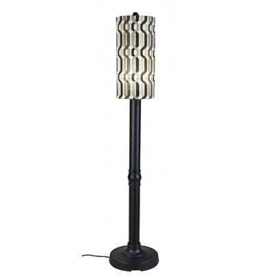 "Coronado 70"" Floor Lamp with Black Body & New Twist Caviar PLC-62250"