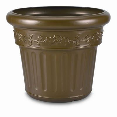 Large Decorative Resin Planter - Bronze PLC-00218