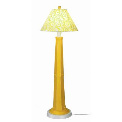 Nantucket Outdoor Floor Lamp Lemon Mimosa PLC-00913
