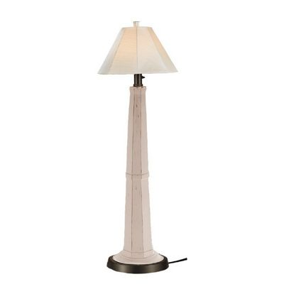 Nantucket Outdoor Floor Lamp White PLC-00906