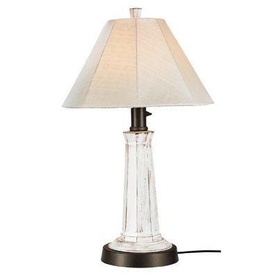 Nantucket Outdoor Table Lamp White PLC-00902