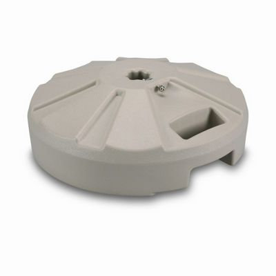 plastic 50 lb. umbrella base beige plc-00234 | cozydays 50 Pound Umbrella Base