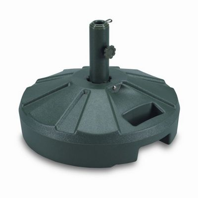 Plastic 50 lb. Umbrella Stand Green PLC-00262