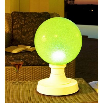 Portable Color Changing LED Globe Table Lamp Small PLC-37731
