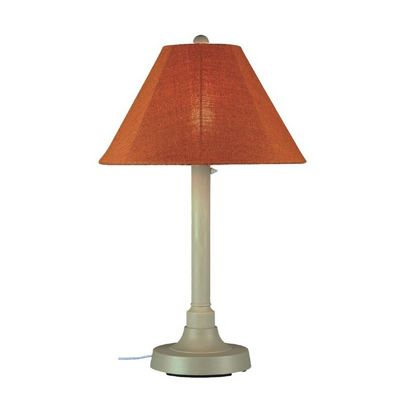 San Juan 34 inch Outdoor Table Lamp Bisque PLC-30115