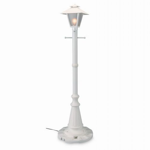 Cape Cod Lantern Portable Patio Lamp White PLC-67001-WH