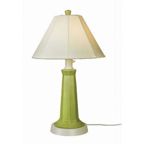 Nantucket Outdoor Table Lamp Mint Julep PLC-00903