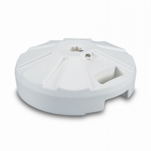 Plastic 50 lb. Umbrella Base White PLC-00231