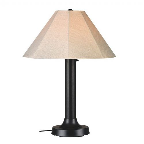 Seaside Outdoor Table Lamp Black PLC-20610