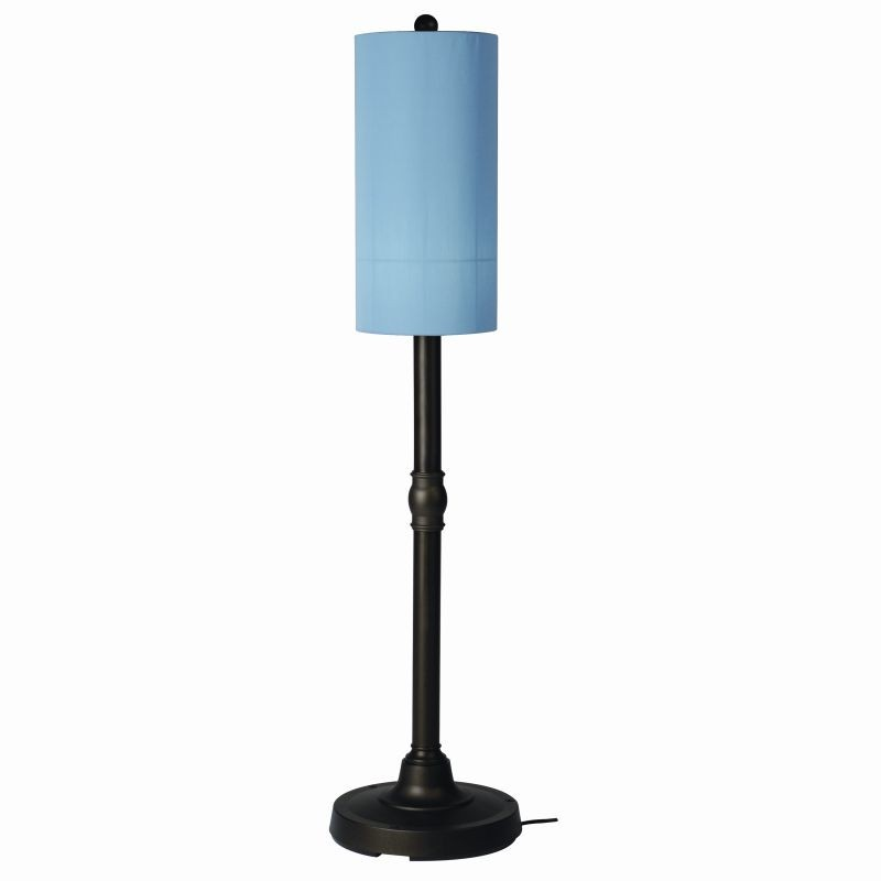 Coronado 58 inch Modern Outdoor Patio Lamp Bronze