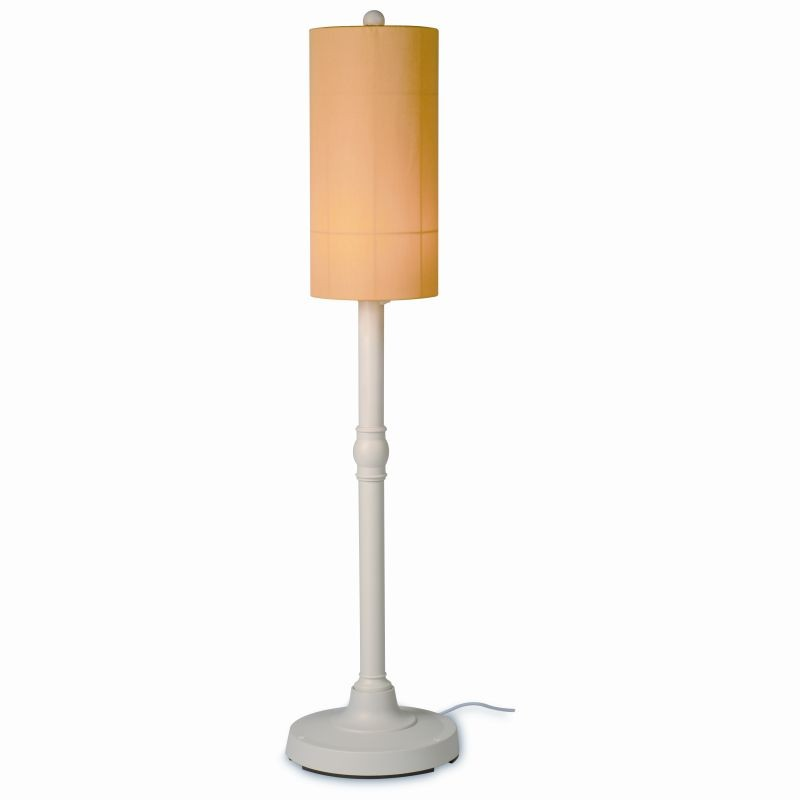 Coronado 58 inch Modern Outdoor Patio Lamp White