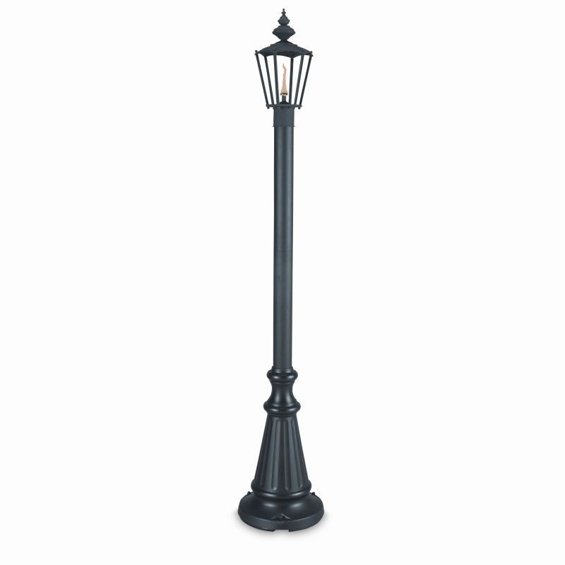 Free Standing Solar Patio Lanterns: Islander Citronella Torch Lighting Lamp