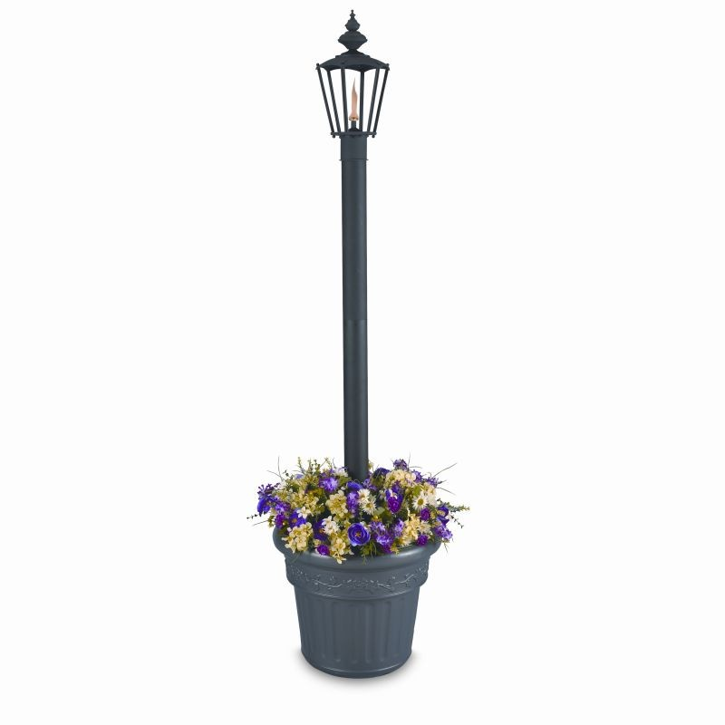 Islander Citronella Flame Torch Planter : Outdoor Torches
