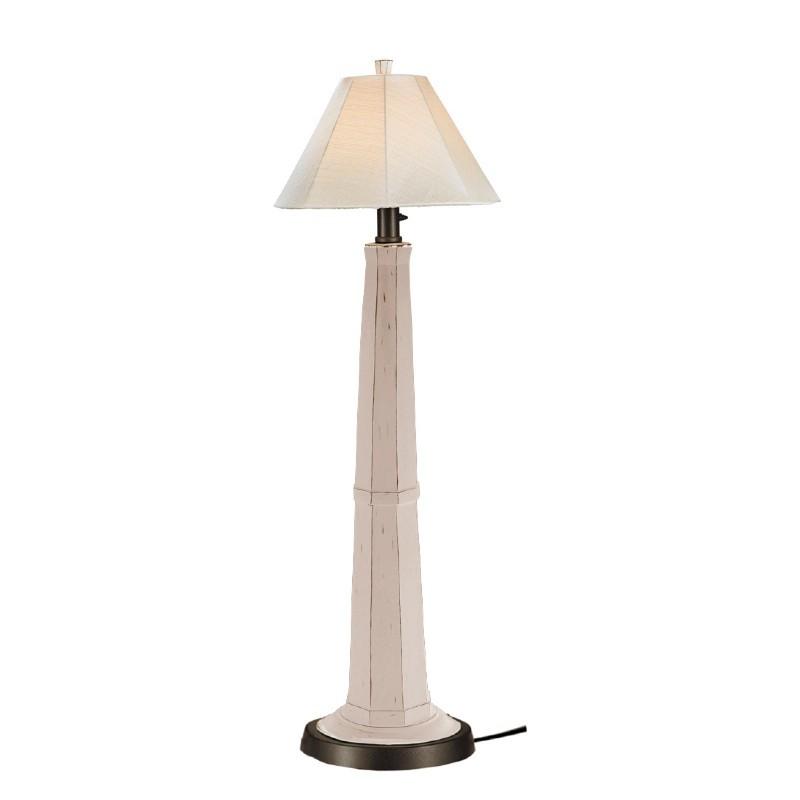 Nantucket Outdoor Floor Lamp White