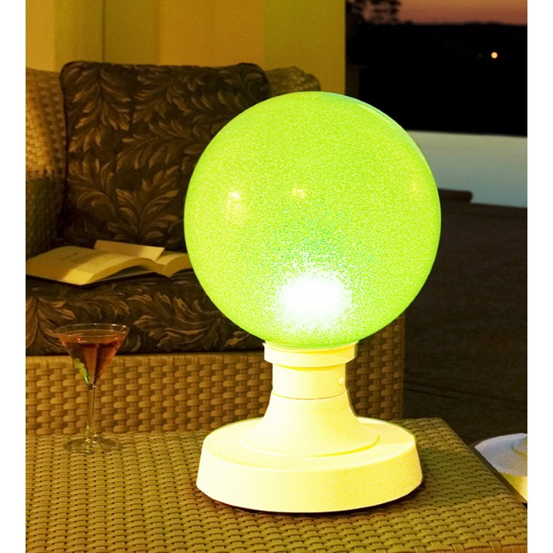 Portable Color Changing LED Globe Table Lamp Small