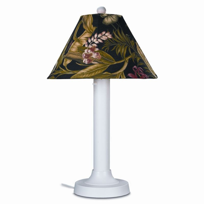 Lighting: Outdoor Table Lamps: Seaside Outdoor Table Lamp White