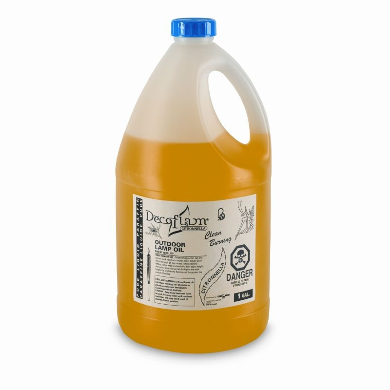 Torch Fuel Citronella 1 Gallon Bottle : Outdoor Torches