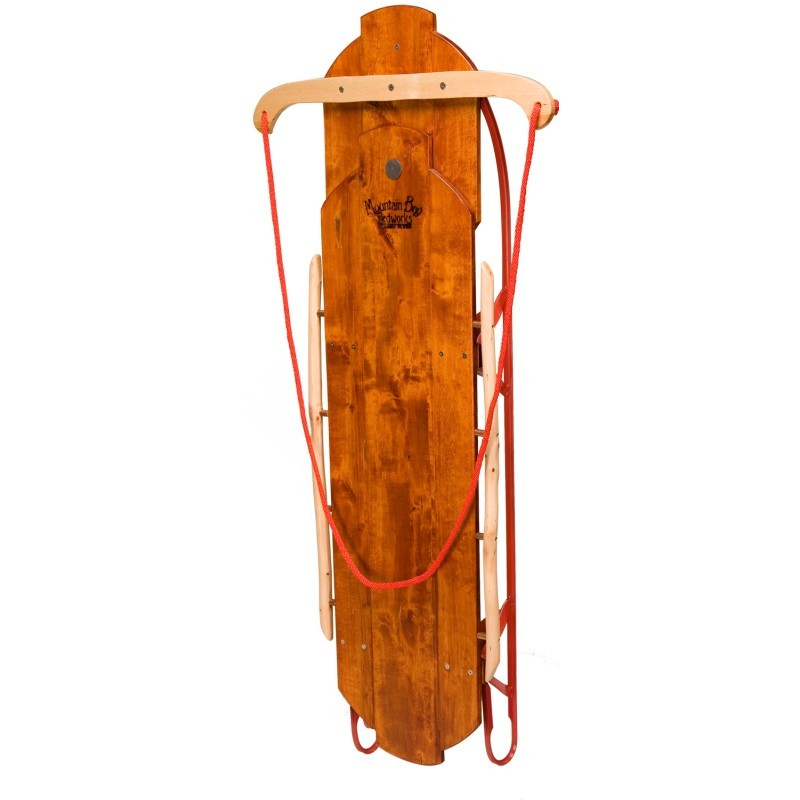Kids Snow Tubes: Classic Flyer Wooden Sled 52 inch