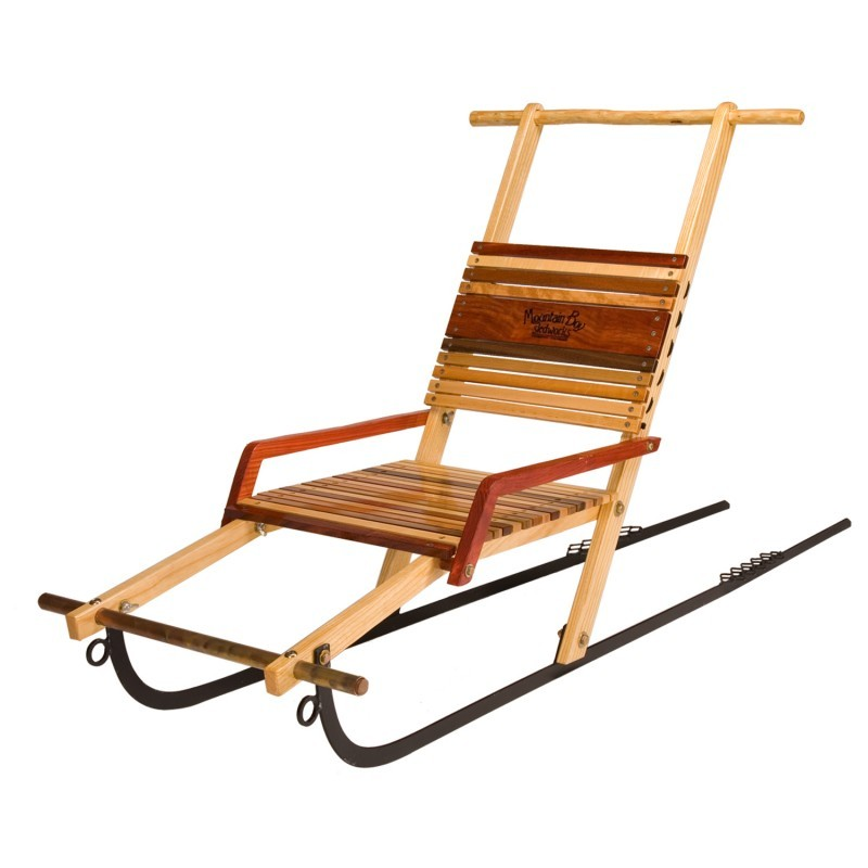 Winter Tubes for Sledding: Silverton Double Wooden Kicksled